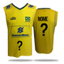 Camisa Masculina Amarela Olympikus Cbv 2015