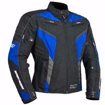 Jaqueta Motociclista X11 Evo Impermeavel Azul P E G Red P