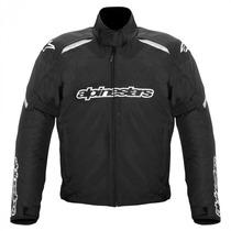 Jaqueta Masculina Para Moto Impermeavel Alpinestars Alux Wp