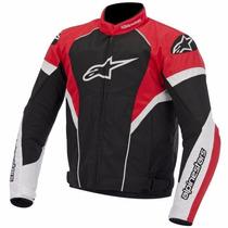 Jaqueta Alpinestars T-gp Plus R Preta/branco/vermelho