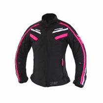 Jaqueta X11 Iron Feminina Preto/rosa *super Promoção*