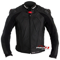 Jaqueta Motociclista Couro Texx New Rock Evolution