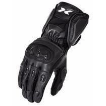 Luva X11 Impact Motociclista Couro + Proteção + Frete Grátis