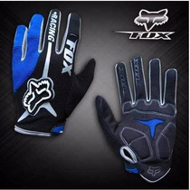 Luva Motocross Bike Bicicleta Trilha Fox Racing Azul
