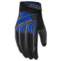 Luva X11 Nitro 3 Azul Proteção Motoqueiro Motociclista Moto