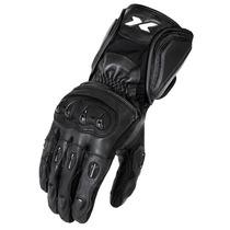 Luva X11 Impact Cano Longo Couro Proteção Motoqueiro Moto