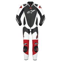 Macacão Alpinestar Gp Pro - Preto / Branco / Vermelho