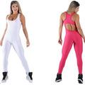 Macacão Feminino Fitness Textura 3 D -academia -ginastica