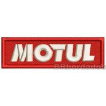Log268 Motul Moto Rallye F1 Kart Stock Car Patch Br Bordados