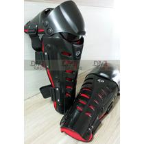 Joelheira Articulada Fox Raptor Motocross Caneleira Protetor