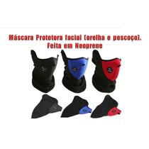 Mascara Proteção Em Neoprene Motociclista - Paint Ball