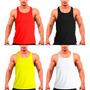 Camiseta Regata Cavada Musculação Masculina Treino Academia
