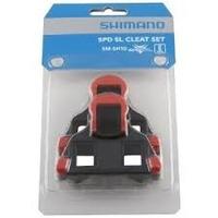 Taco/travessa Shimano Speed Spd Sl Cleat Sm-sh10 (vermelho)