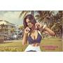 Top Superhot Zipper Blue Carol Saraiva Heat The Beach Miami