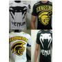 Kit C/ 08 Camisetas Mma Ufc Jiu Jitsu Muay Thai Pronta Entre