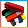 Faixa Para Taekwondo/karate/full Contact/kickboxing/judo
