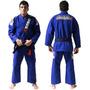 Kimono Koral Mkm Competition Azul Disponível A0 / A3