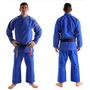 Kimono Novo Classic Koral Azul Frete Pac Grátis