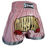 Shorts Muay Thai Kick Boxing New Strike - Feminino Rosa - P