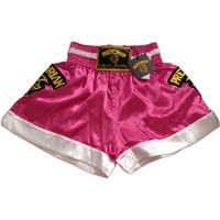 Shorts Pretorian Feminino Muay Thai Boxing - Rosa - P