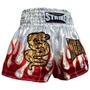 Shorts Muay Thai Kick Boxing Flama - Branco - G