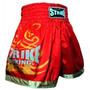 Shorts Muay Thai Kick Boxing Tacktell - Vermelho - M