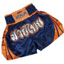 Short Muay Thai Muay Pam - Venum- Azul E Laranja