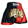 Shorts Muay Thai Kick Boxing New Strike - Preto/vermelho - G