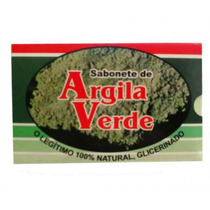 Sabonete De Argila Verde - Glicerinado - 90gr
