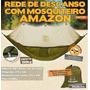 Rede Camping De Descanso Com Mosquiteiro Amazon - Guepardo