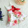 Vestido Infantil Festa Aniversário/florista-pronta Entrega!