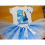 Fantasia Tutu Infantil Personalizada Frozen