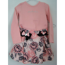 Pituchinhus - Conjunto De Saia E Blusa Rosa. Temos Lilica