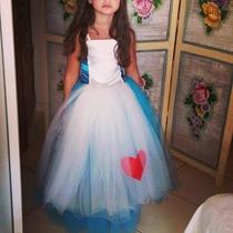 Fantasia Alta Costura Alice No País Das Maravilhas