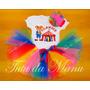Fantasia Tutu Infantil Circo Palhacinha Personalizada