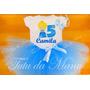 Fantasia Tutu Infantil Personalizada Cinderela