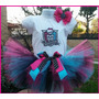 Fantasia Tutu Monster High Personalizada Completa