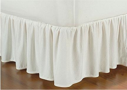 Saia Para Cama Box Queen Em Malha 100%algodão 1,98x1,68x0,32