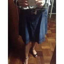 Saia Jeans Disritmia M