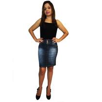 Saia Jeans Secretaria - Mix Jeans