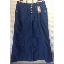 Saia Jeans Longa Deluxe N.48 - Super Promoção!!!