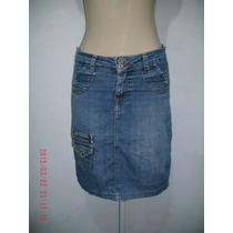 Linda Saia Jeans - Jn Tam; 40 R$ 40,00