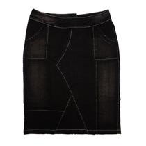 Saia Jeans Plus Size Evangélica (50 E 60) - Linda Evangélica