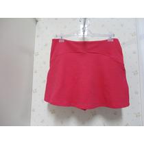 Saia Shorts Rosa - Tecido - Rodada Babado - Shorts Saia
