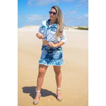 Saia Jeans Feminina Disponíveis Nos Tamanhos 36 Ao 46!!!!!!
