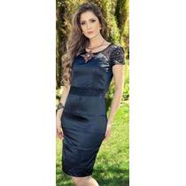 Vestido Moda Evangélica - 42 - 46 -