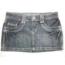 Mini Saia Jeans Curta Tam 38-40 Bom Estado , Daksul
