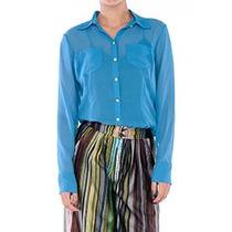 Camisa Clássica Em Seda Pura- Frete Grátis-marca Belle & Bei