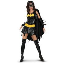 Super Heróis Batgirl Fantasia Adulto Deluxe Frete Grátis