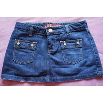 Saia Curta Jeans Missbella Nº 38 - Usada